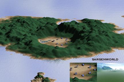 the Sarsenworld environment